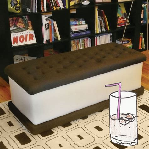 ice cream bench this ice cream sandwich bench by jellio rendered us