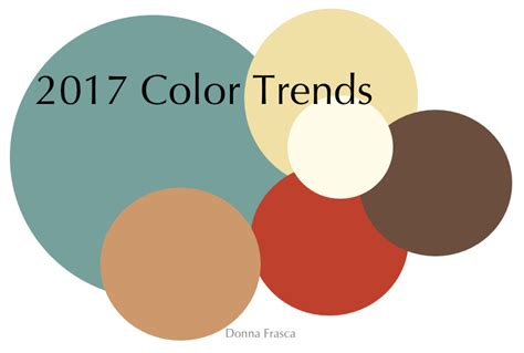 colour trend 2017 my 2016 color forecast comes true come see my picks for 2017 decorating by donna color expert