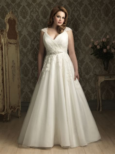 Womens Plus Size Wedding Dresses by Wedding Dresses For Plus Size Photo 12 Real