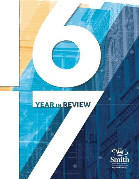 Kingston Mba Review by Smith School Of Business Smith S Year In Review Is Now Out
