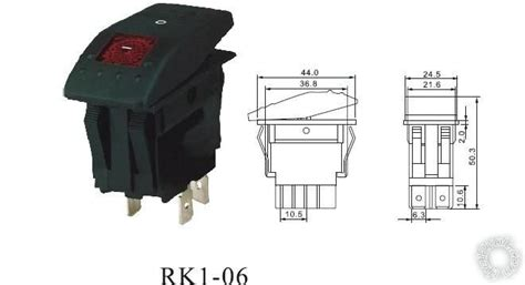 wiring 4 pin led rocker switch