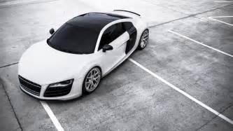 Audi R8 Top Audi R8 White Car Top View Wallpaper 1920x1080 Hd