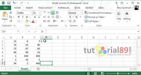 Tutorial Ms Excel 2013 Lengkap | rumus if di excel 2013 tutorial lengkap fungsi rumus if