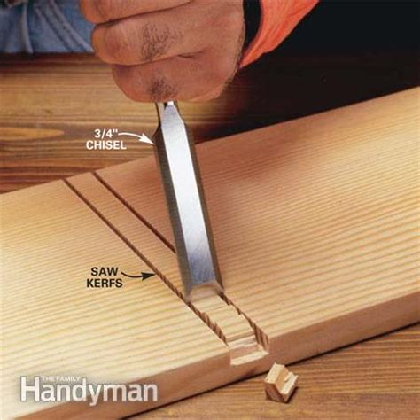 used in woodwork how to use a wood chisel the family handyman