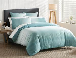 oberon teal quilt cover bed bath n table