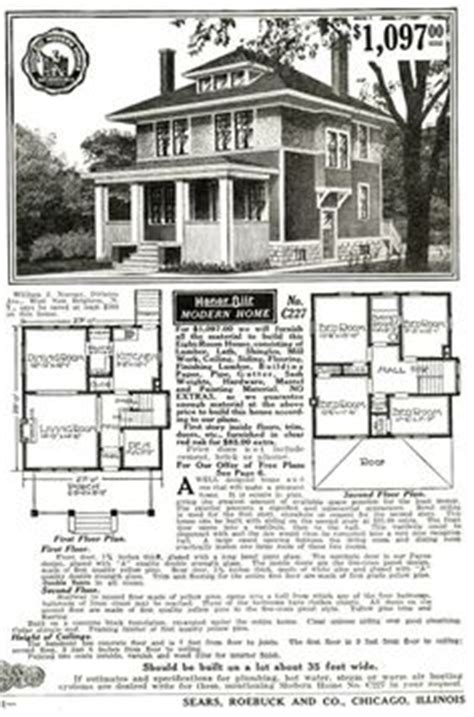 1900 Sears House Plans 1000 Images About Floor Plans On Foursquare House Floor Plans And Homes