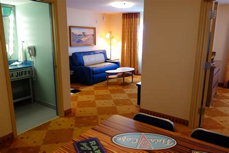 of animation resort family suite floor plan photo tour of a cars family suite at disney s of