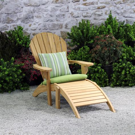 nathania adirondack teak patio furniture terra patio