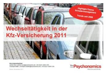 Auto Versicherung Pro Jahr by 1 7 Millionen Autobesitzer Wechseln Kfz Versicherer