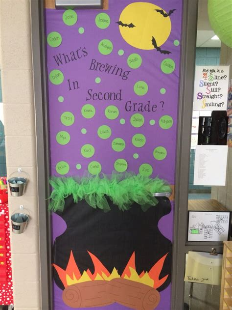 halloween themes for school 25 best ideas about halloween classroom door on pinterest