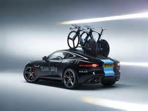 Sky Jaguar Team Sky Gets Jaguar F Type Coupe Bike Carrier