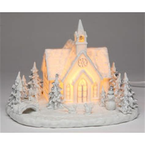 musical lighted christmas church findgift com