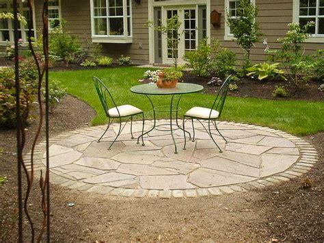 circular garden plans circular indian stone patio design 300 best stone patio ideas images on pinterest