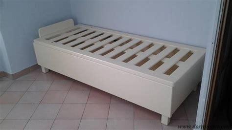 letti contenitori in legno letto contenitore in legno massello rinforzato dormicisu