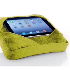Six Pad Go Go Pillow Ipad Tablet Cushion Book Rest Lime