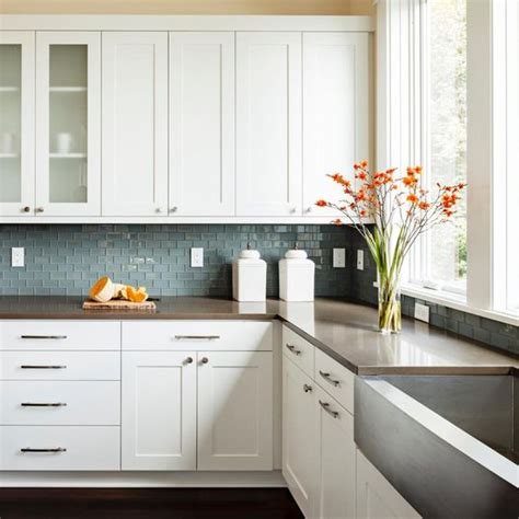 modern kitchen cabinet materials white shaker cabinets discount trendy in queens ny