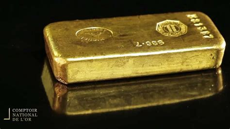 lingot 1 kg en or comptoir national de l or gold fr