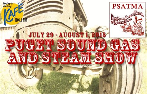 Tractor Giveaway - puget sound antique tractor show cing giveaway kafe 104 1