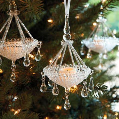 met chandelier christmas tree ornament 60 pc joyeux noel ornament collection frontgate