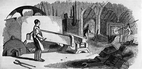 Industrial Revolution The iron in the industrial revolution