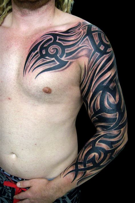 full hand tribal tattoo 14 beautiful sleeve tribal tattoos only tribal