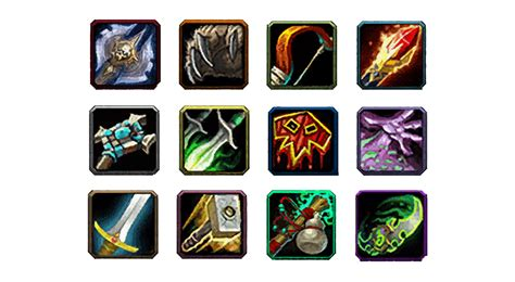 wow class colors world of warcraft class icons with class colors by