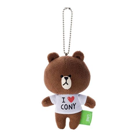 Brown Cony 03 gt gt พวงก ญแจ ต กตา line brown cony