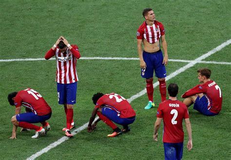 fotos del real madrid llorando las mejores im 225 genes de la final de la chions 2016