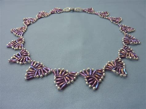 pretty bugle bead jewelry beading tutorials the beading