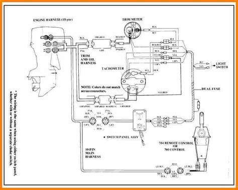 yamaha outboard wiring diagram wiring diagram image for