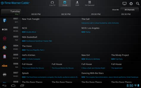 time warner cable app for android time warner cable tv app updated with on demand content