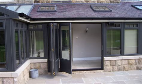 Bi Fold Doors With Glass Inserts Bi Fold Doors Leeds Glass Windows Doors Conservatories Orangeries