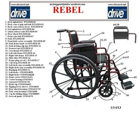 Lifetime Chair Parts Drive Medical Rebel Wheelchair Single Axle