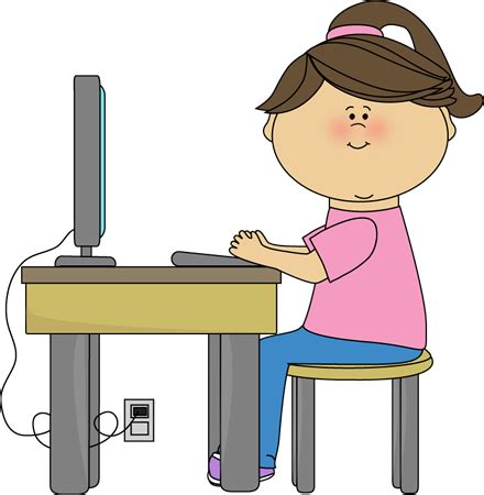 Computer Desk Clipart Awehamric Cool Webpages