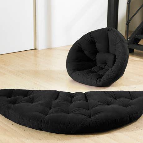 fresh futon nido nido black fresh futon touch of modern