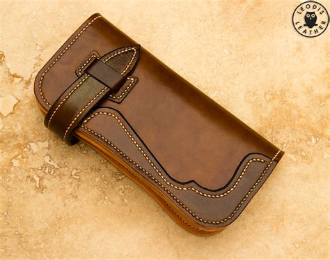japanese leather wallet pattern long wallet template images