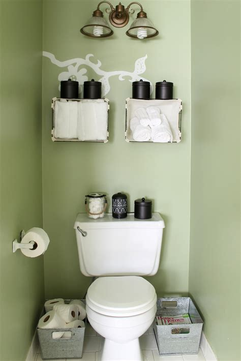 Small Bathroom Organization Ideas The Country Chic Cottage Small Bathroom Storage Ideas