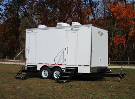 Trailer Bathroom Rental by Restroom Trailer And Wedding Rentals For Denton
