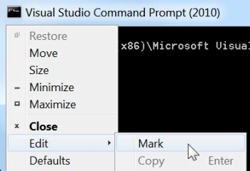 visual studio 2010 reset settings command copy and paste with the command prompt the ultimate
