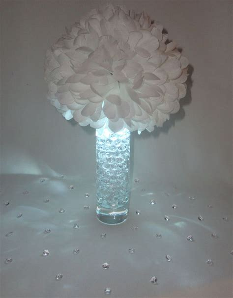 1000 ideas about led centerpieces on blue