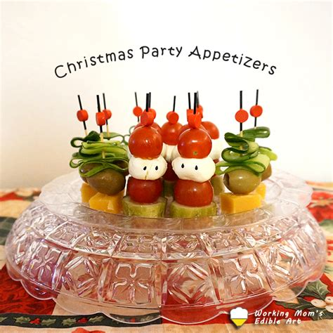 cute christmas appetizers for parties and easy appetizer for working s edible