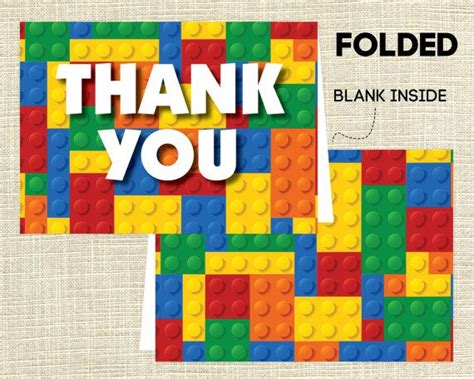 printable lego birthday thank you cards 1000 images about thank you note printables ideas on