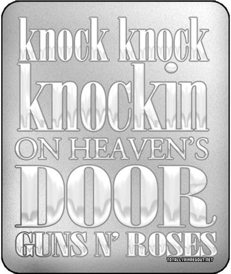 Knocking On Heavens Door Guns N Roses by Knocking On Heavens Door Guns N Roses