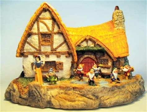 Dwarfs Cottage by Seven Dwarfs Cottage Miniature From Our Olszewski