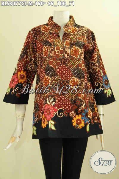 Pakaian Wanita Baju Atasan Wanita Baju Cewek Trendy Frh 0269 Model Baju Batik Trendy Wanita Muda Pakaian Batik Atasan