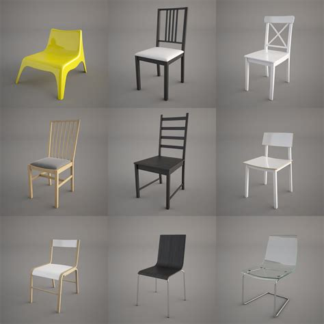 ikea lunna swivel chair stl finder searching 3d models for for ikea gilbert chairs 1