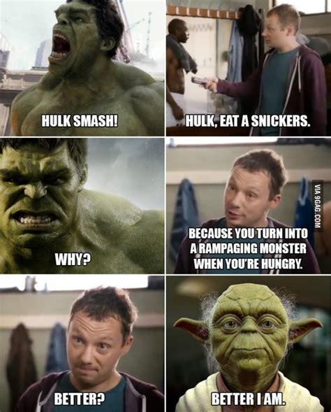 Snickers Commercial Meme - better i am snickers quot hungry quot commercials know your meme