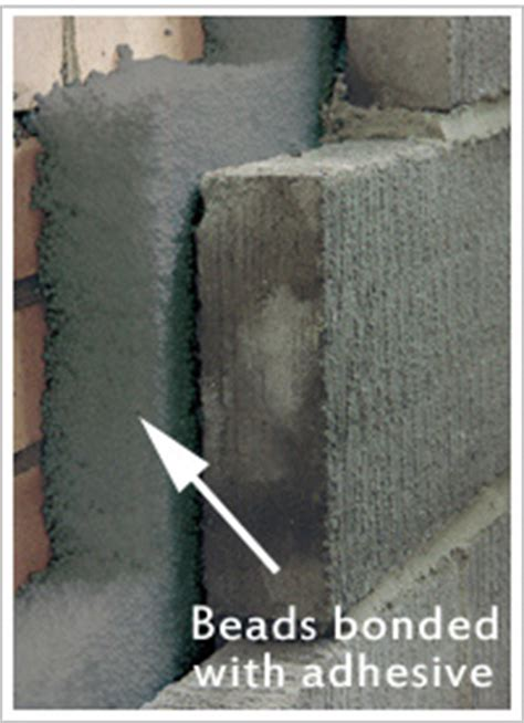 bead cavity wall insulation problems cavity wall insulation cavity walls pumped with bonded