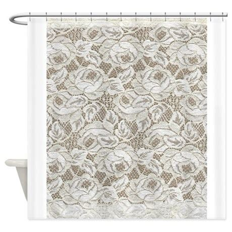 white floral shower curtain vintage white floral lace shower curtain by