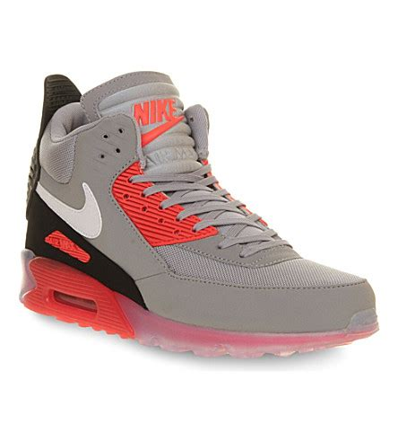 nike nike air max 90 high top trainers selfridges